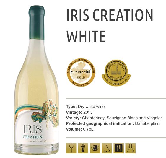 IRIS Creation White_